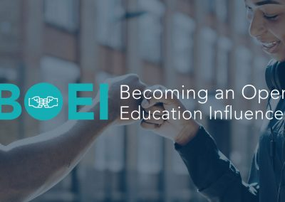 Becoming an Open Education Influencer