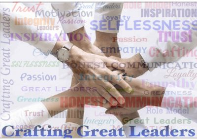 Crafting Great Leaders