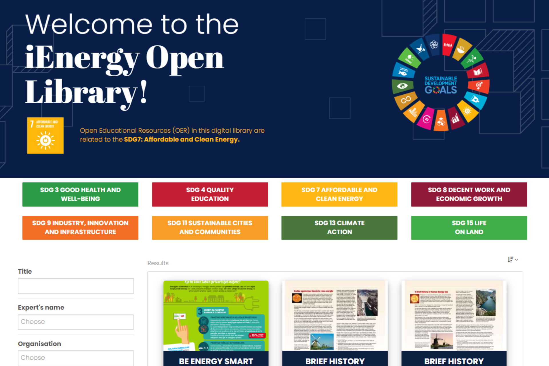 ienergy-open-library