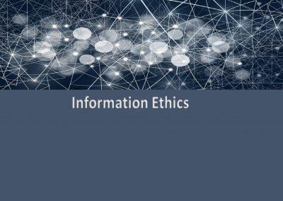 Information Ethics