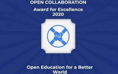 OE4BW is the recipient of the Open Collaboration Award for Excellence!