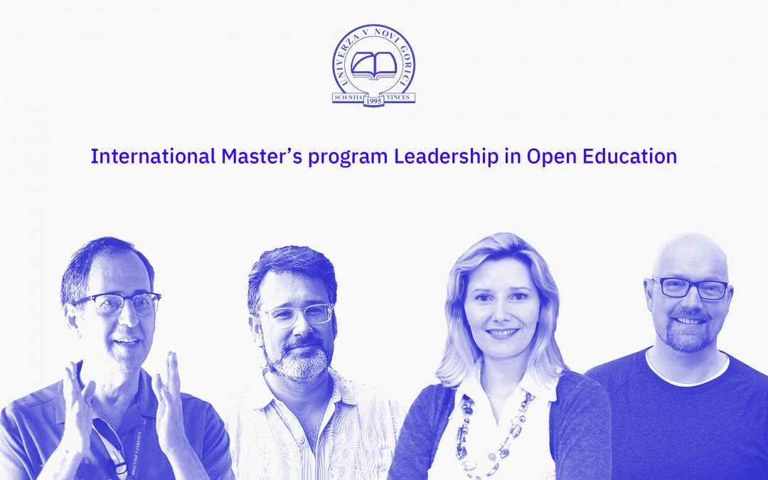 Inviting Candidates to Join the International Master's Degree Program Leadership in Open Education